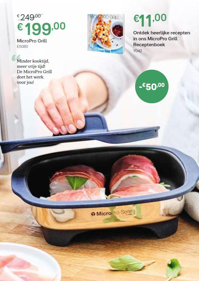 micropro grill + receptenboek