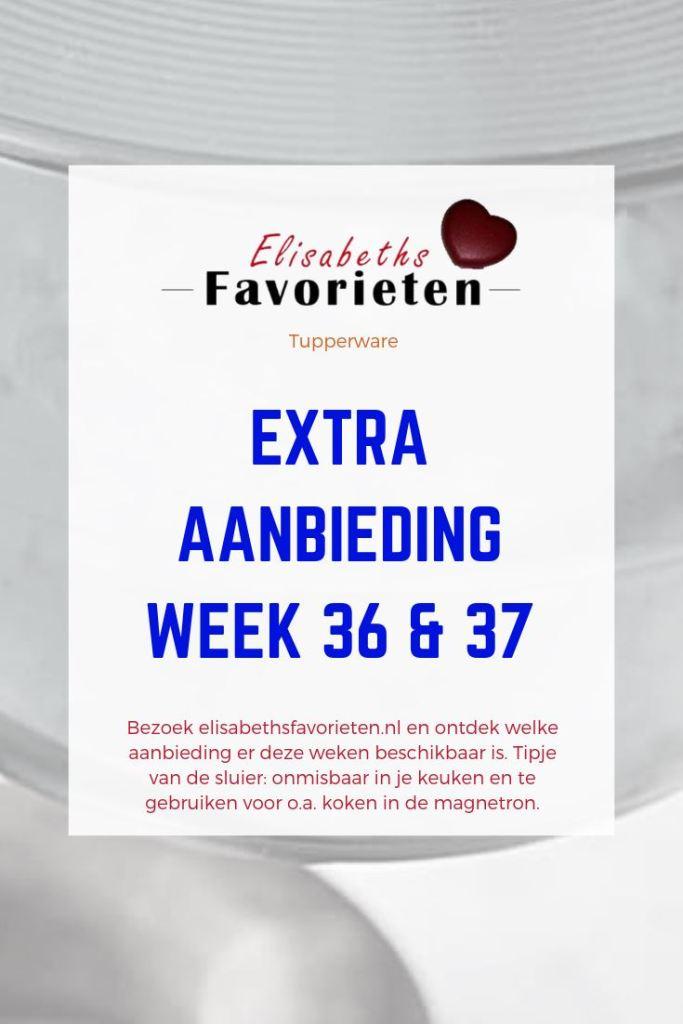 Extra aanbiedingen week 36 & 37
