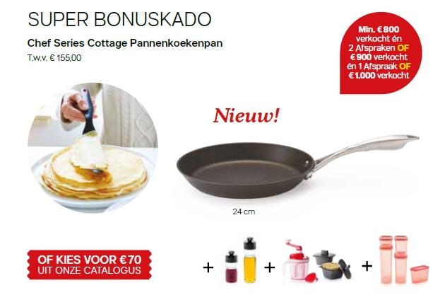 chef series cottage pannenkoekenpan - super bonuscadeau