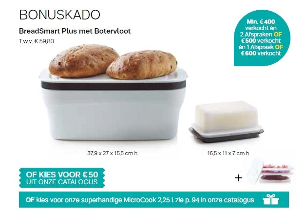 breadsmart plus + botervloot