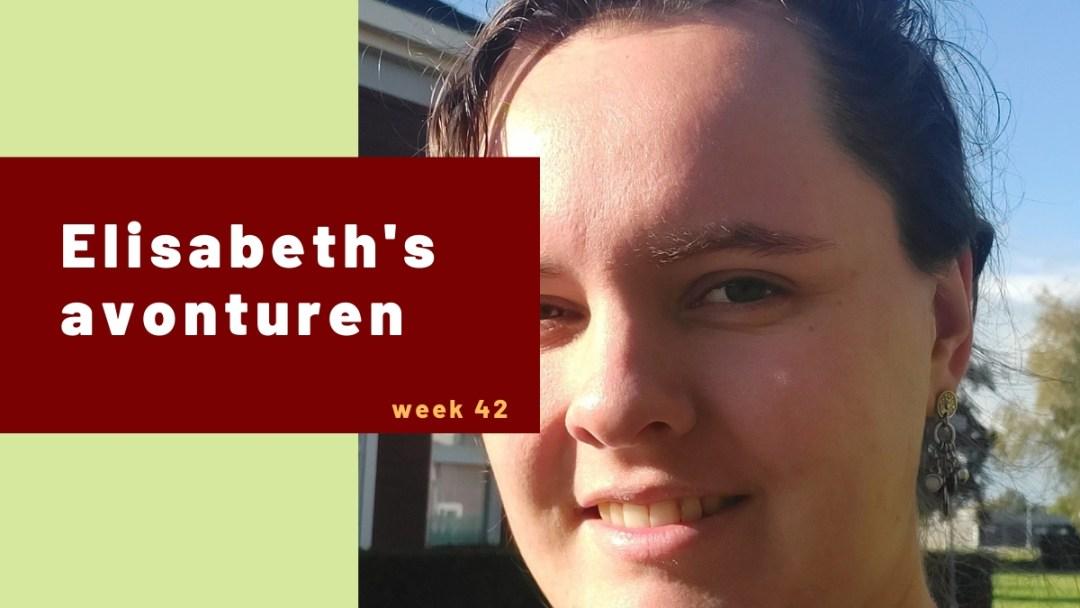 Elisabeth's avonturen week 42 – 2020