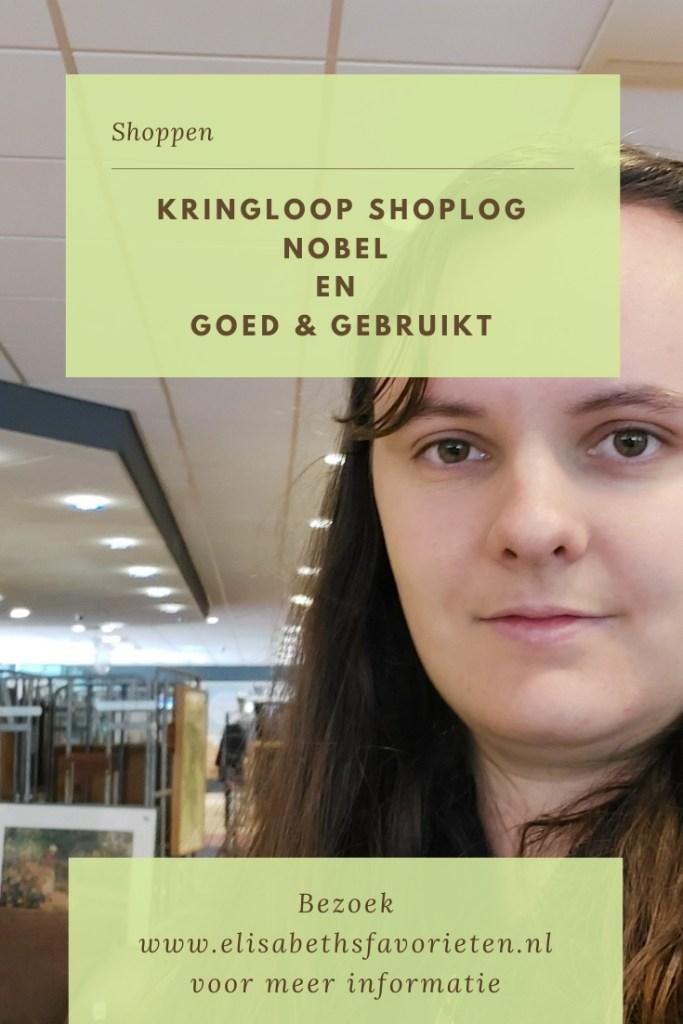 Kringloop shoplog van Nobel en Goed & Gebruikt