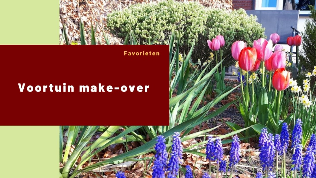 Voortuin make-over – tuintafel ja of nee?!
