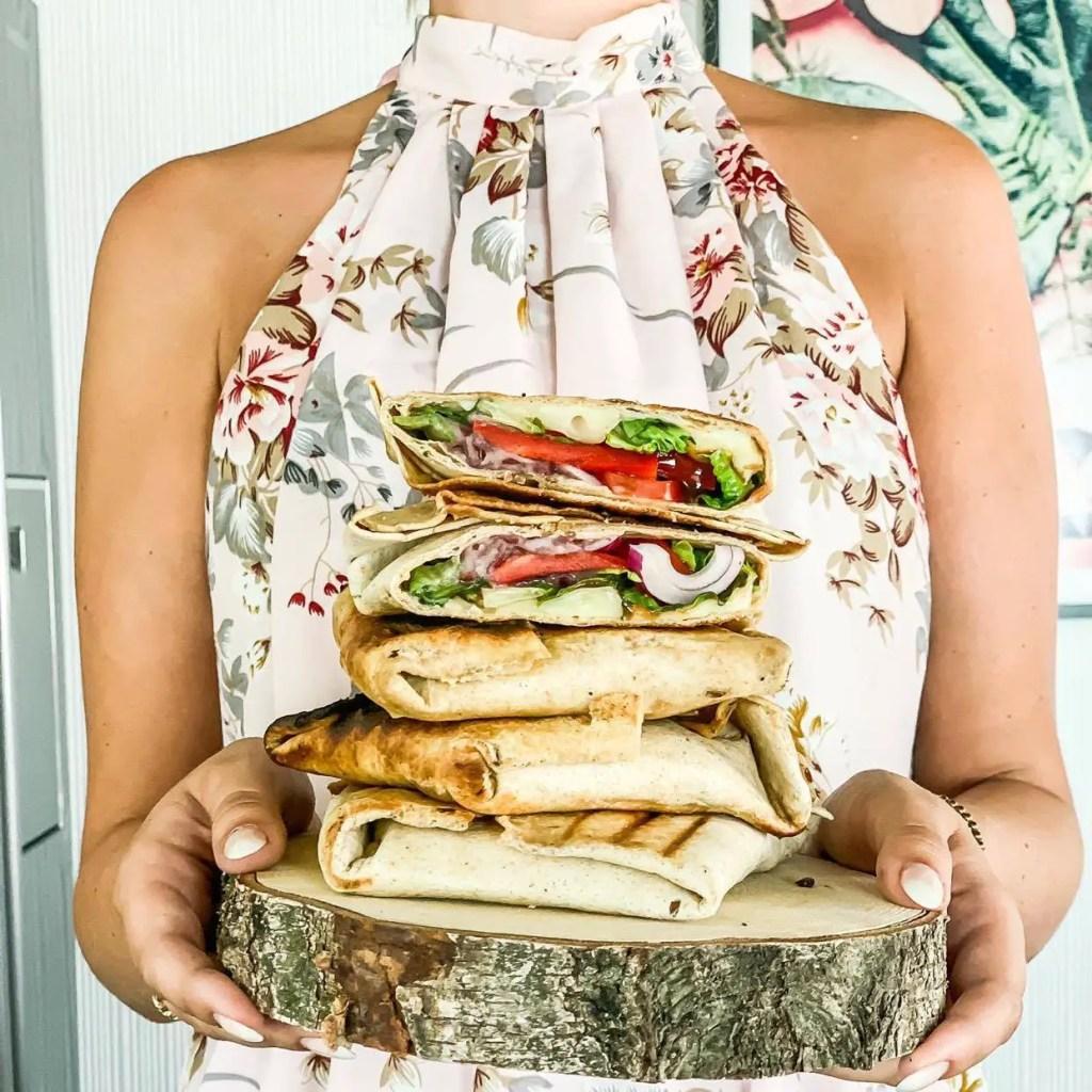 Gegrillte Tortilla-Päckchen