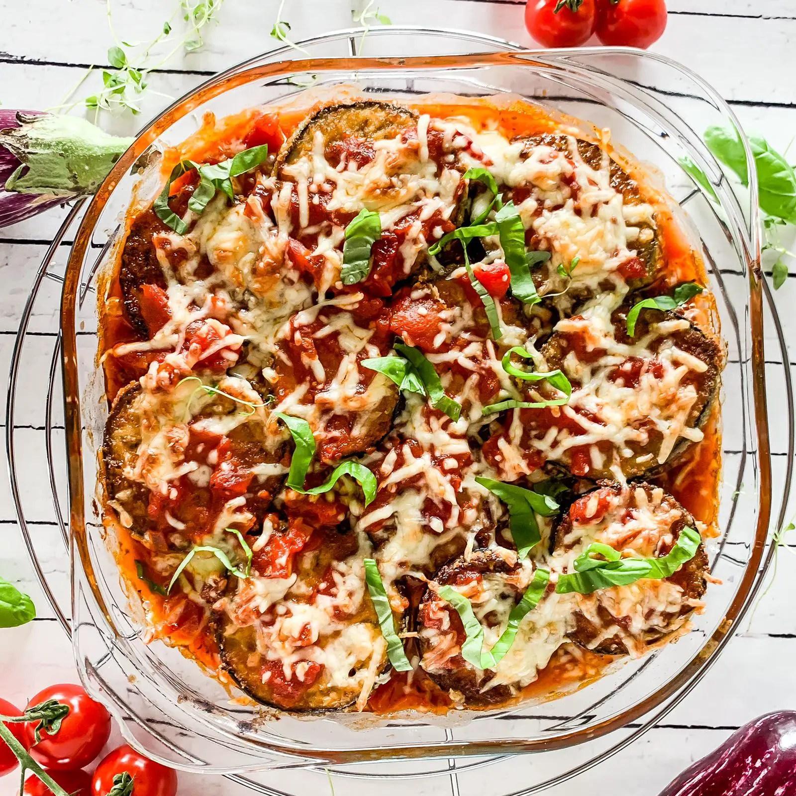 Vegetarische Parmigiana