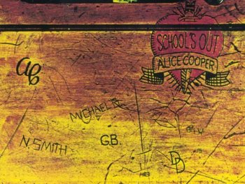 CD cover to Alice Cooper's School's Out