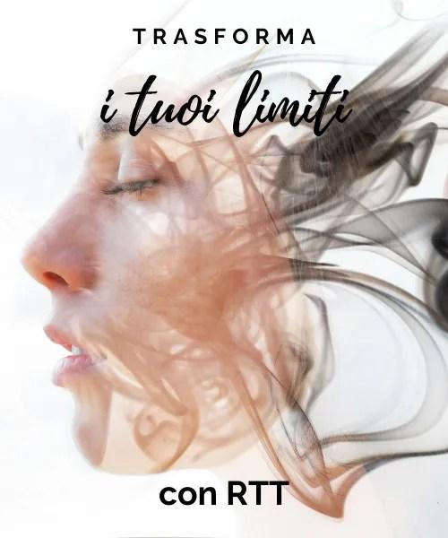 Trasforma i tuoi limiti con RTT - Percorsi - Elisa Palma-Hancock