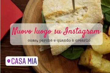 Creare un luogo su Instagram