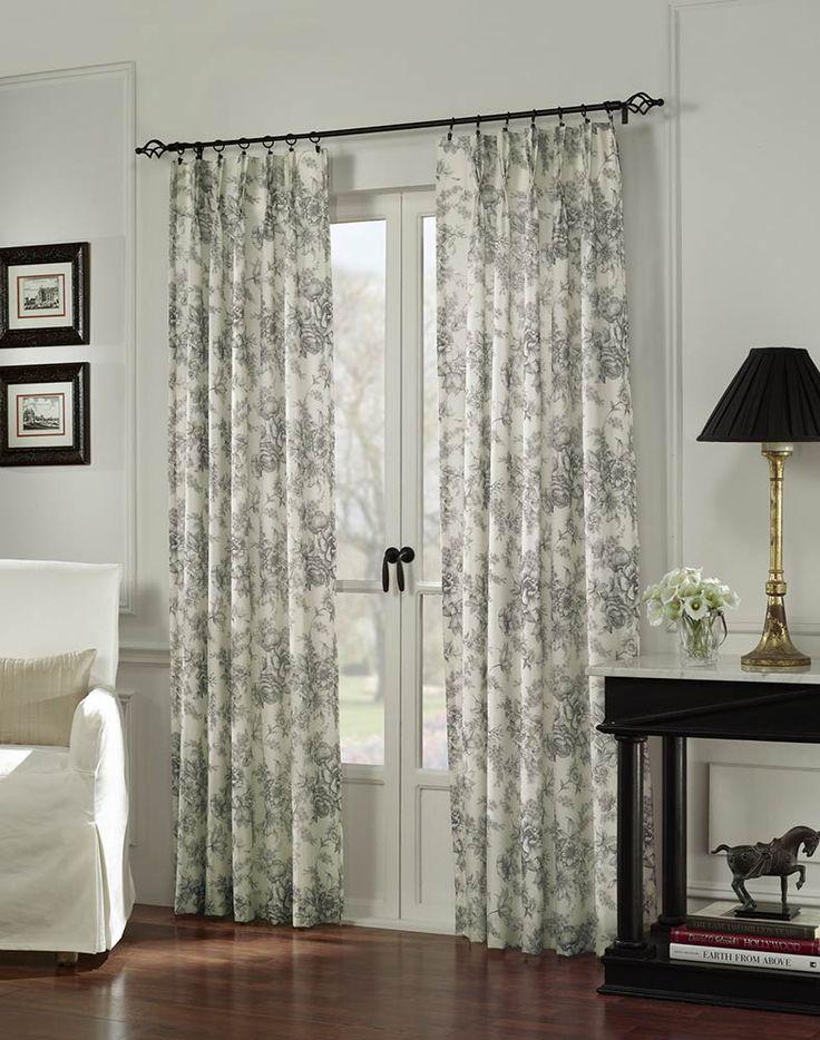 french door curtains elisdecor