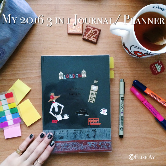 【Lifestyle】My 2016 3 in 1 NTU Press X Take a Note Planner (Daily Planner+Bullet Journal+Diary)