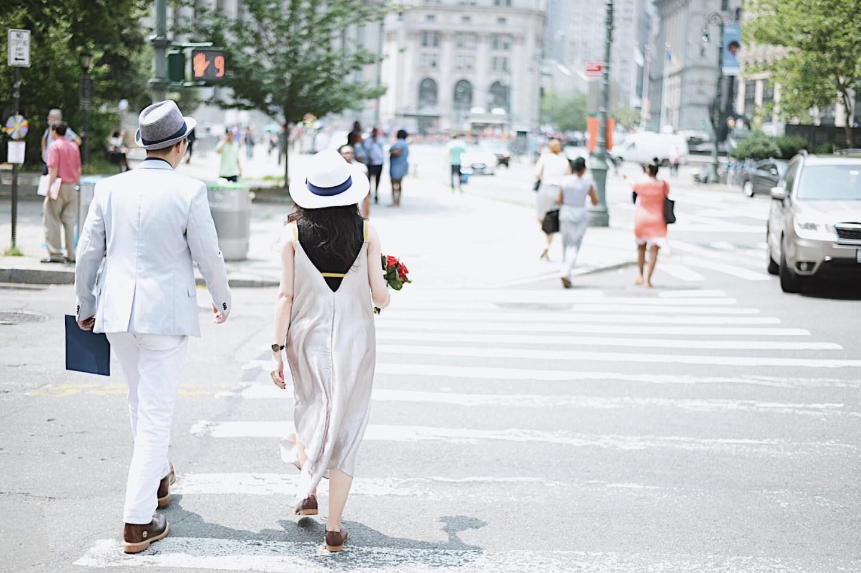 Get Married in NYC|那一天,我們就這樣搭著地鐵去結婚