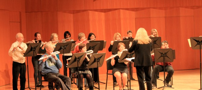 Drew Flute Orchestra Concert 12/7/14