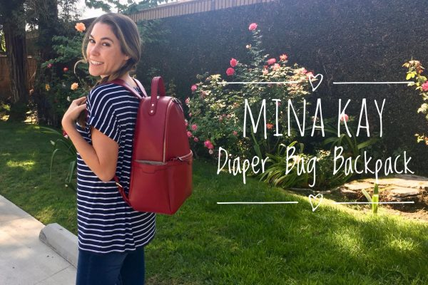 Mina Kay Diaper Bag Backpack
