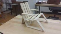 Iteration of Chair Design