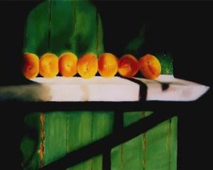 Peaches on a Ledge