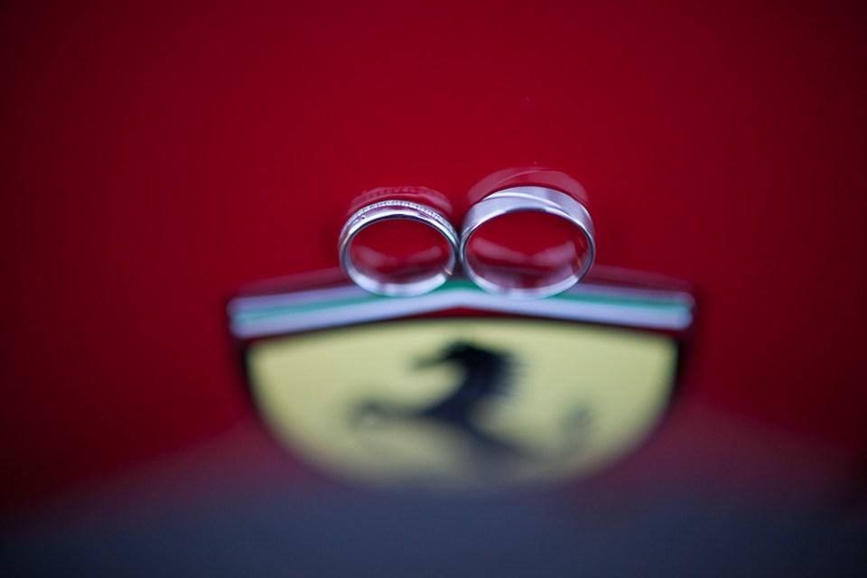Mariage au Salon Kennedy en ferrari
