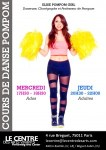 Cours Pom pom girl Paris 11 danse pompom ado adulte centre des arts vivants