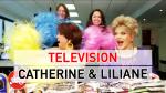 Vidéos télévision Catherine et Liliane le petit journal canal + plus la revue de presse pom pom girls elise pompom girl