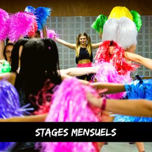 Stage de danse pompom pom-pom girls paris