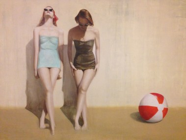 Day at the Beach 48x72
