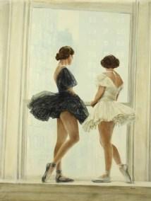 Dancers at Rest 48x64