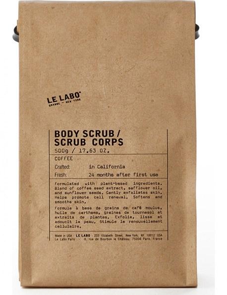 LE LABO Coffee body scrub 500g