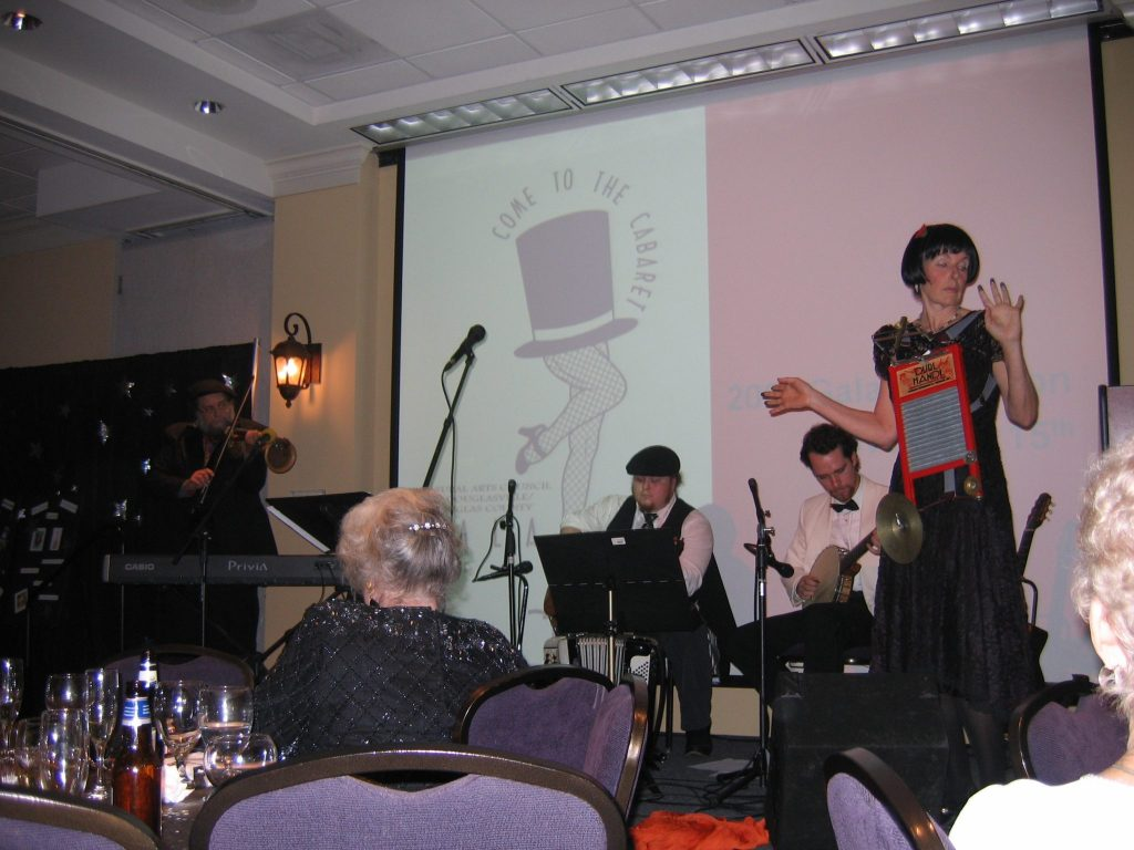 Cabaret Gala with Jambiance for Douglas County Arts Council
