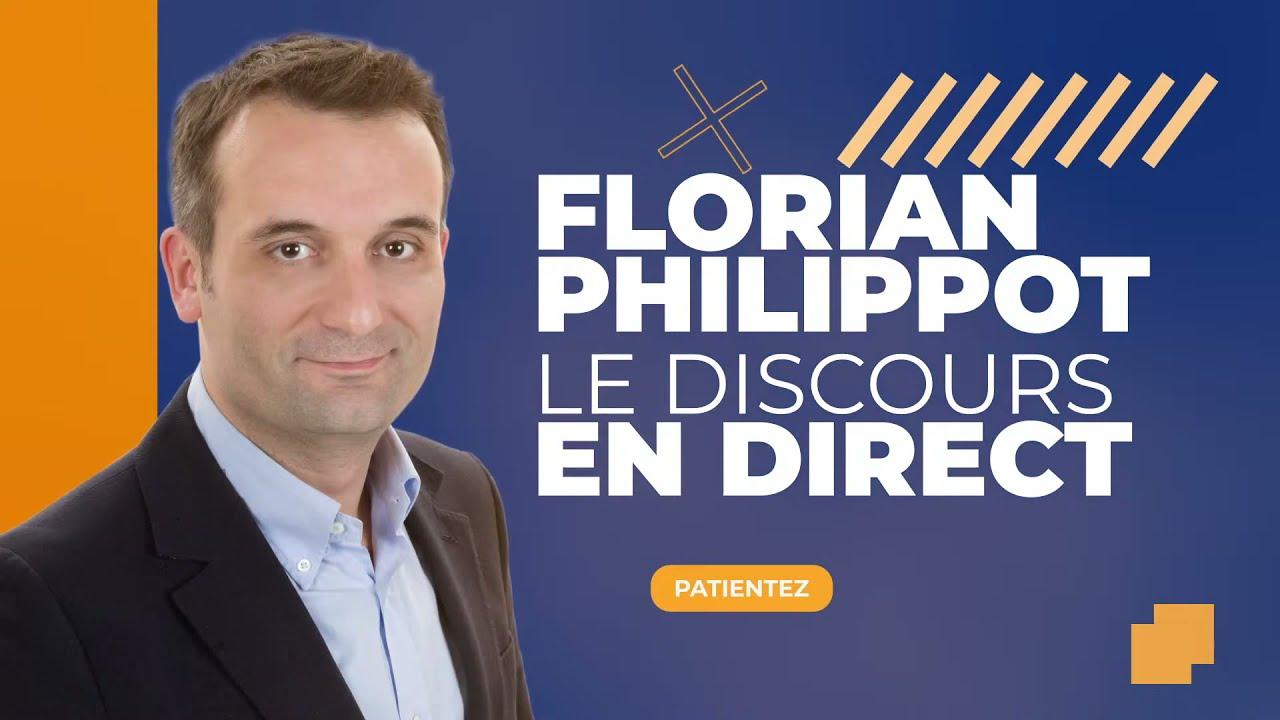Discours de lancement de la campagne présidentielle de Florian Philippot