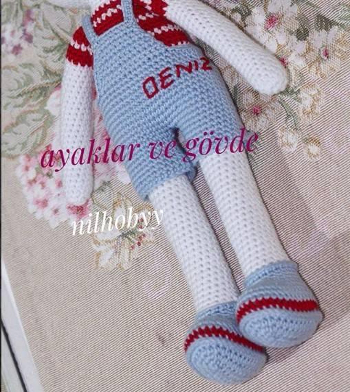Amigurumi oyuncak bebek yapımı anlatımlı modelleri | 571x509