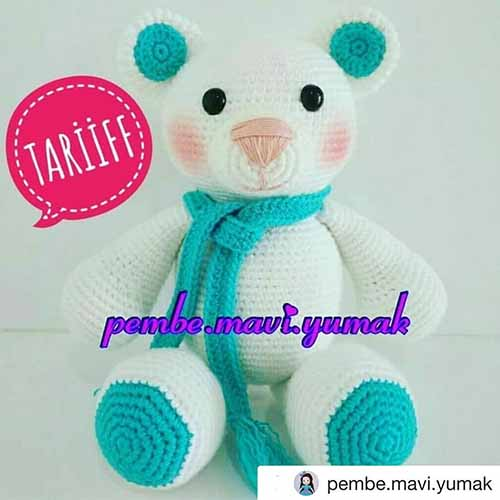 Amigurumi hello kitty kulak dikimi - YouTube | 500x500