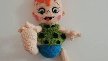 Amigurumi Şirin Bebek Yapımı | Hobimella – El emeği | 200x350
