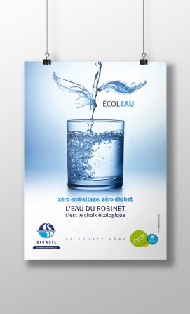 L'eau du robinet, c'est le choix écologique