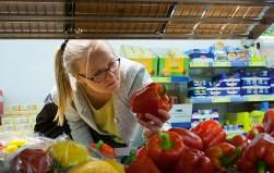 Een Berlijnse paprika kost €0.85, een klein verschil met de Vlaamse (€0.75).