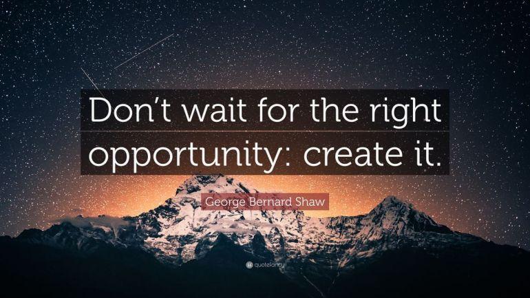 Möglichkeiten schaffen, statt auf sie zu warten! Motivation und Selbstorganisation... und Himalaya
