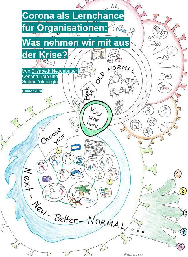[Titelbild] [Whitepaper] Corona als Lernchance für Organisationen: Was nehmen wir mit aus der Krise