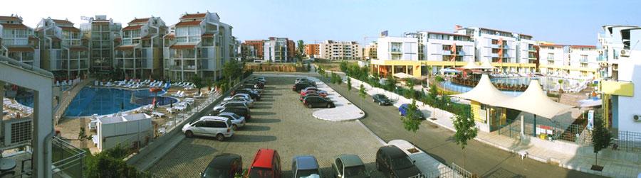 В окрестностях комплекса Элит 2 есть два бесплатная общественная парковка