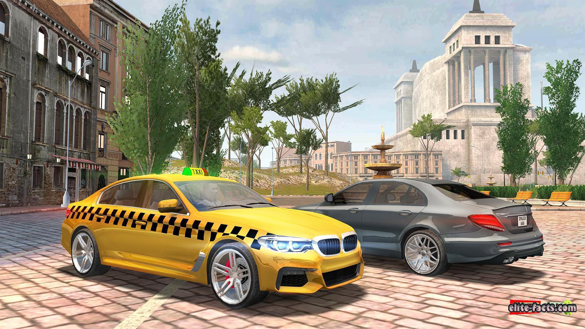 تحميل لعبة Taxi Sim 2021 من ميديا فاير