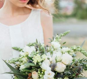 Bouquet, romanticism.