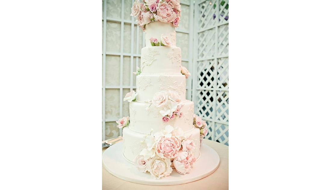 La wedding cake