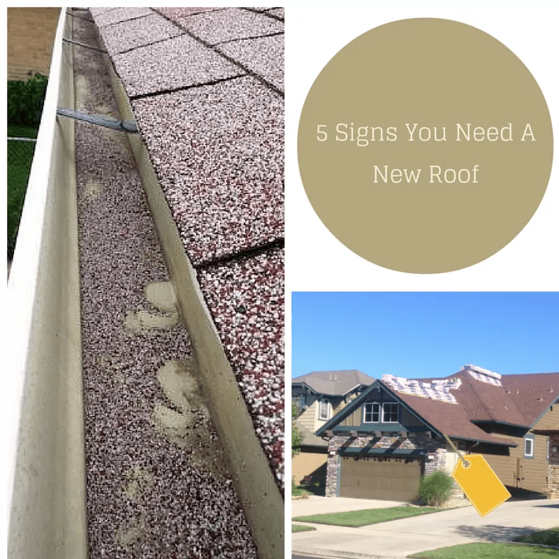Elite Roofing Signs in need of new roof