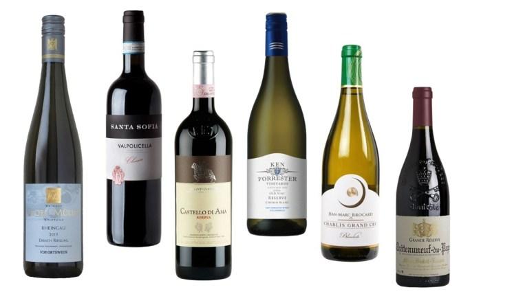 exemple de grands vins elite wine tasting