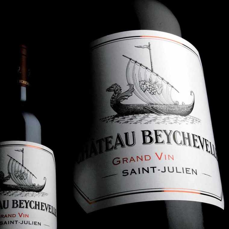 Beychevelle bottle of wine