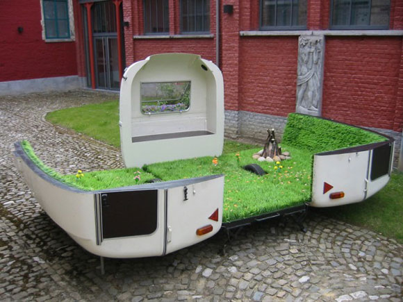 kevinvan braak park Elite Find of the Day: Caravan, a Portable Park by Kevin Van Braak
