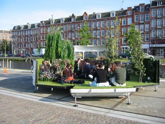 kevinvanbraak park Elite Find of the Day: Caravan, a Portable Park by Kevin Van Braak
