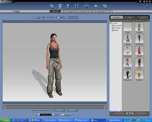 Reallusion iClone 2 Studio Обзор