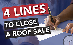 4 Lines to close a sale