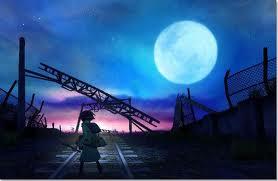 Seto set against the night sky.