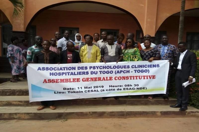 Photo de famille de l'AG des psychologues cliniciens