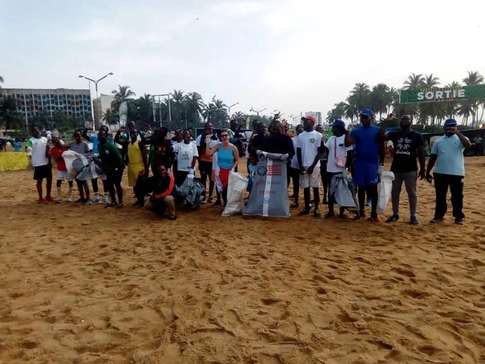 Le lancement de la coupe sur la plage