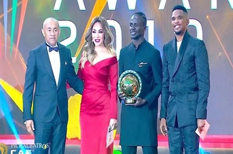 Sadio Mané élu meilleur joueur de l'année 2019